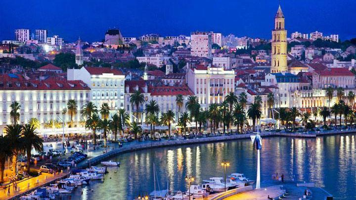 Tow of Split in Croatia is the Supreme Boat Transfer home town and departure point